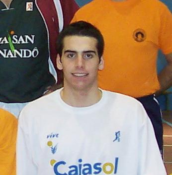 Benjamin Cutillas actual jugador del Cajasol cadete